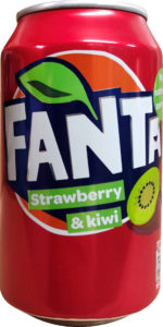 Fanta Strawberry Kiwi Can