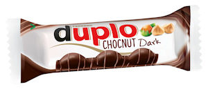 duplo Chocnut dark riegel