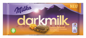 Milka darkmilk gesalzenes Karamell 7622210963963