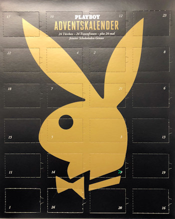 Playboy Adventskalender 2018 im atundo Shop