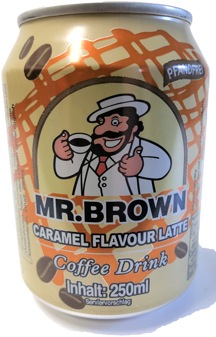 Mr Brown Coffee Drink Caramel Flavour King Car