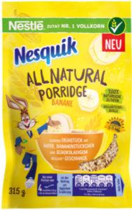 NESQUIK Porridge allnatural Banane