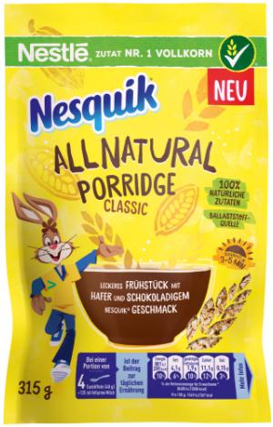 NESQUIK Porridge allnatural classic
