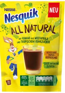 Nesquik AllNatural Kakao 168g Beutel