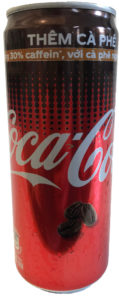 Coca Cola plus Kaffee