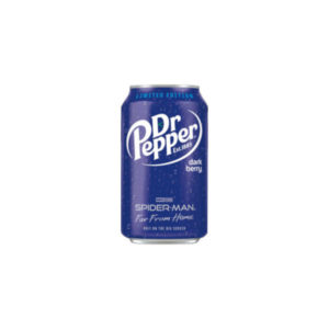 Dr Pepper Dark Berry Spiderman Edition