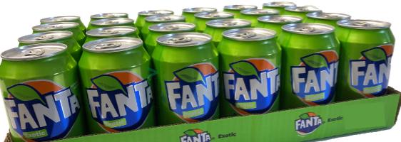 Fanta Exotic no sugar (ohne Zuckerzusatz)