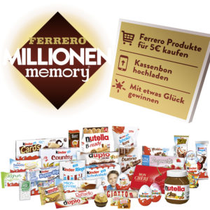 Ferrero Millionen memory 2019