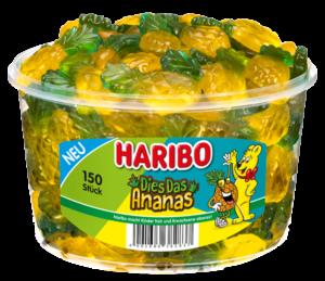 Haribo Dies das Ananas