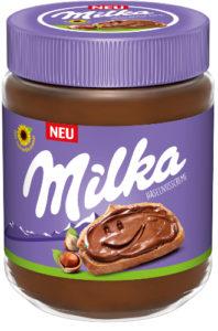 Milka Haselnusscreme mit Sonnenblumenöl