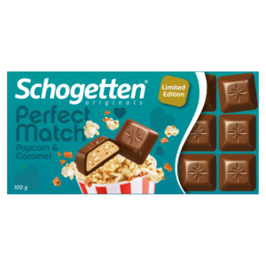 Schogetten Perfect Match Popcorn & Caramel