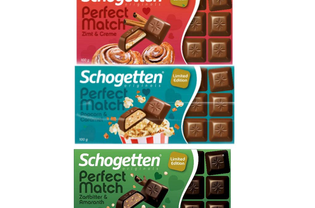 """Die neue Schogetten Kollektion """"Perfect Match"""" kommt im Herbst 2020"""