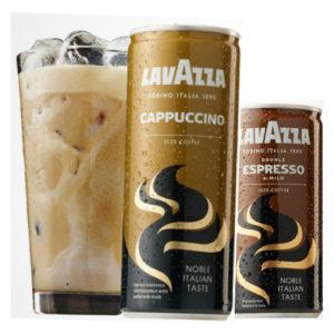 Lavazza & PepsiCo Iced Capuccino & Double Iced Espresso