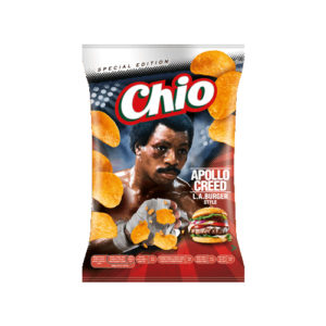 Chio Chips Special Edition Apollo Creed L.A. Burger Style