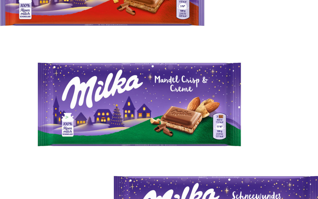 Milka a la Spekulatius & Neuheiten Weihnachten 2020