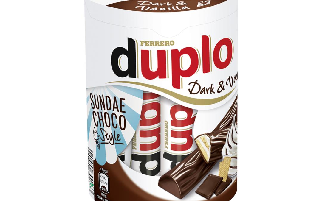 duplo Dark & Vanilla Sundae Choco Style