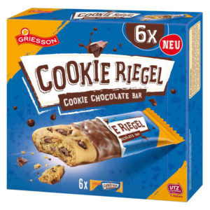 Griesson Chocolate Cookie Riegel