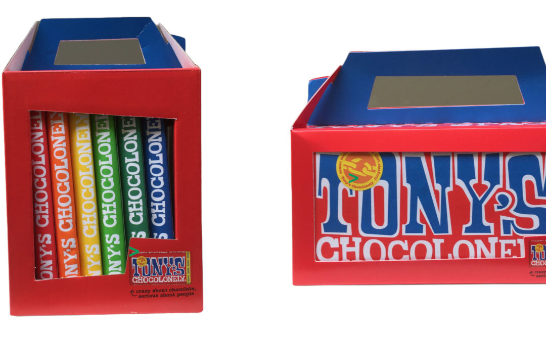 Tony's Chocolonely Rainbow Packs