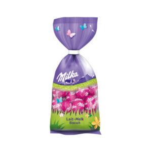 Milka Schokoladen Eier Ostern 2021 Lait-Melk Biscuit