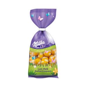 Milka Schokoladen Eier Ostern 2021 Lait-Melk Praline Croquant