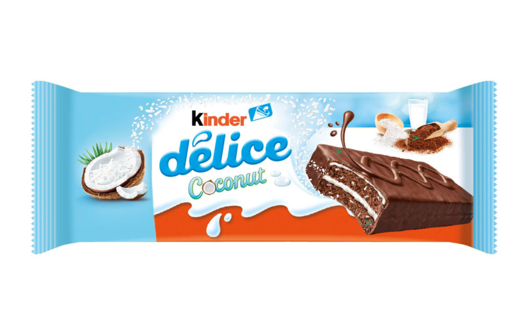 Kinder Delice Coconut
