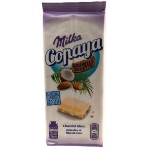 Milka Copaya 7622201425180 Mondelez weiße Schokolade Mandeln Kokosraspeln