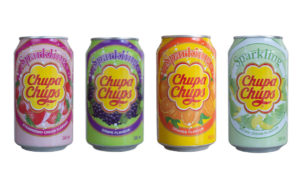 Chupa Chups Sparkling Drinks strawberry, grape, melon, orange