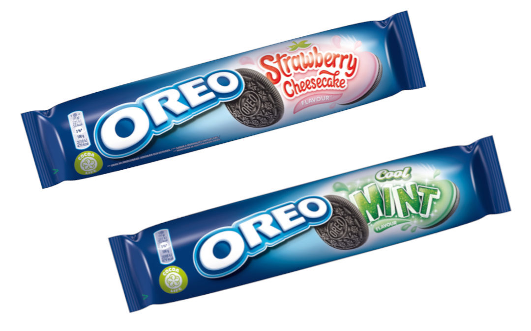 Oreo Strawberry Cheesecake & Oreo Cool Mint