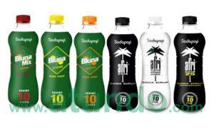 Sodapop Sirups Afri Cola Bluna Sirup