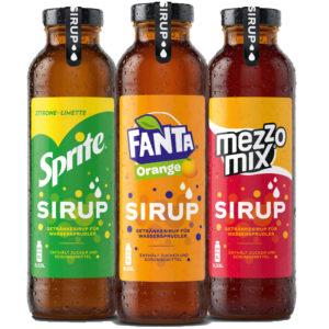 Fanta Sirup Sprite Sirup Mezzo Mix Sirup