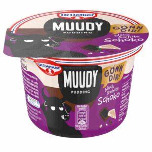 Muudy Pudding black & whote Schoko