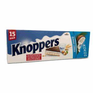 Knoppers Kokos Summer Edition Big Pack Packung Exotic Exotisch Milch Riegel Schokolade Keks