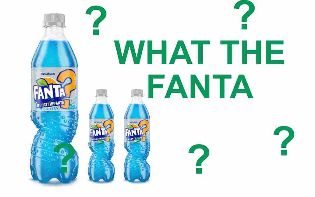 Die What The Fanta in Blau