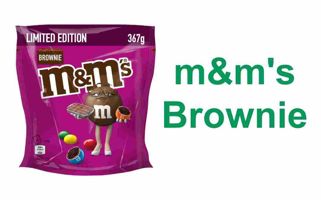 m&m's Brownie limited Edition