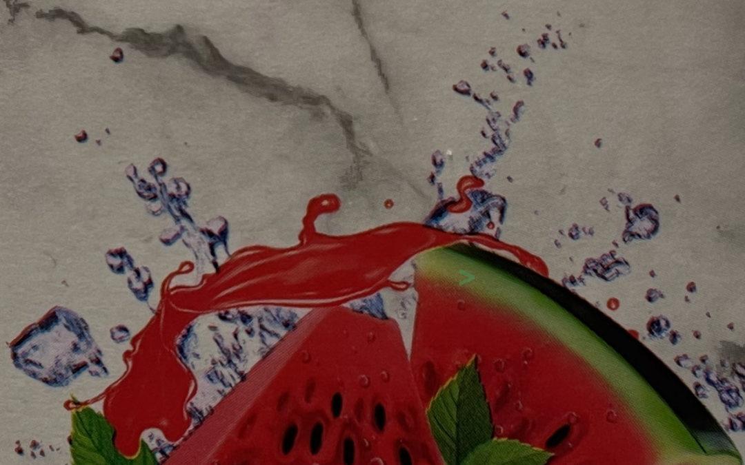 4BRO Eistee Red-Crash (Wassermelone-Minze) Neuheit