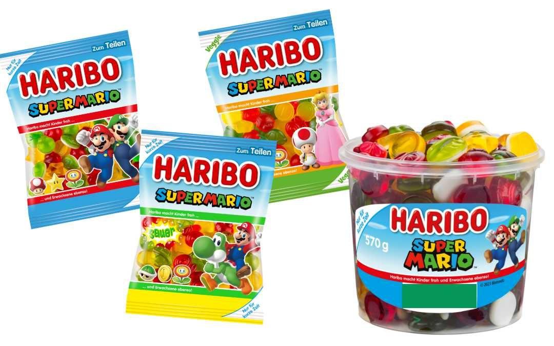 Haribo Super Mario Fruchtgummis