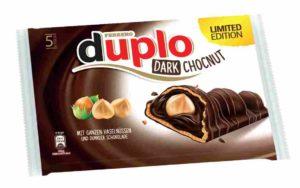 duplo Chocnut dark limited edition 2021 comeback