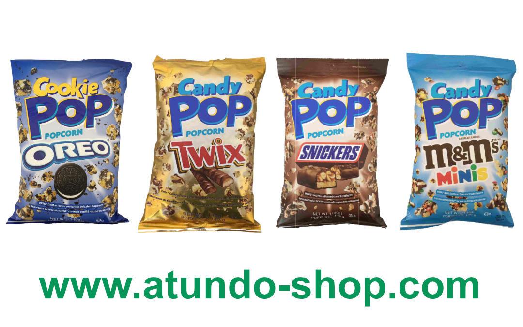 Candy Pop & Cookie Pop Popcorn