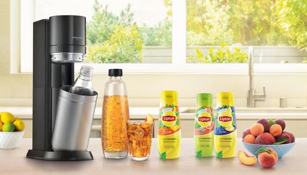 Neue SodaStream Sirups Pepsi Max Cherry, Lime und Lipton Sirup