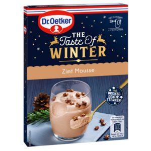 The Winter Of Taste Zimt Mousse