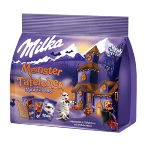 Milka Halloween Monster Täfelchen 150g Packung