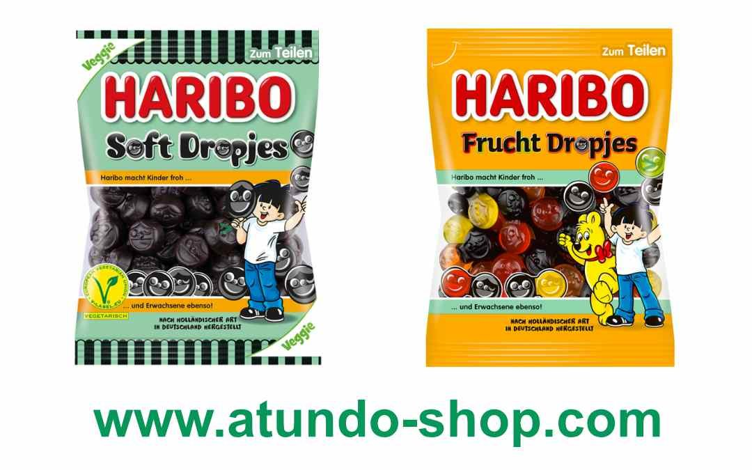 Haribo Soft Dropjes und Frucht Dropjes